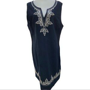 Charlie Paige Linen/Cotton Dress NWT